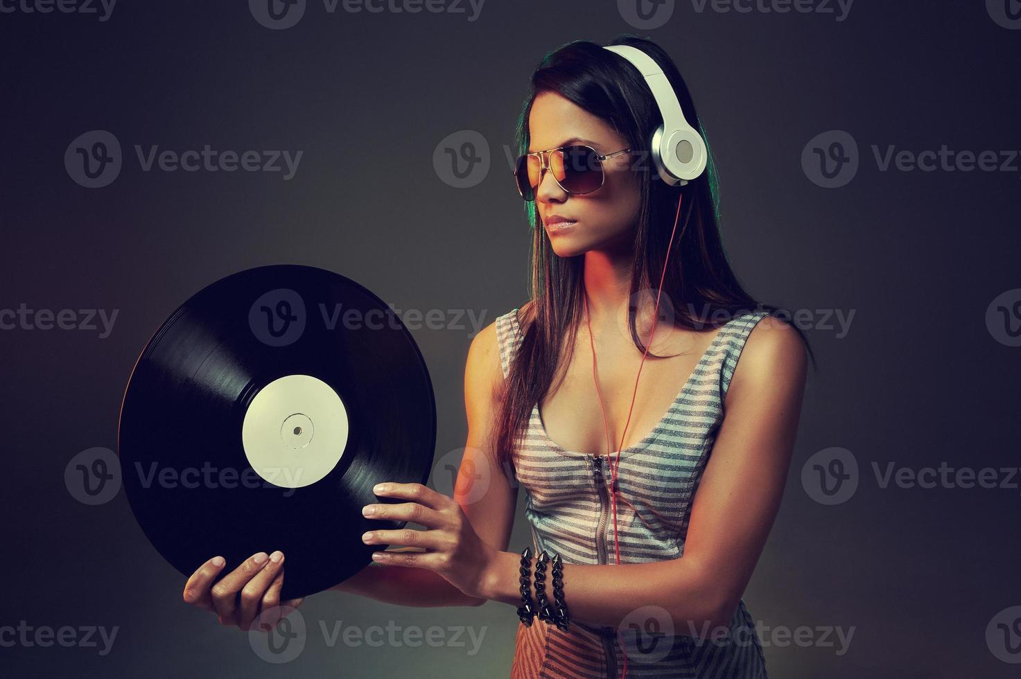DJ-Porträt foto