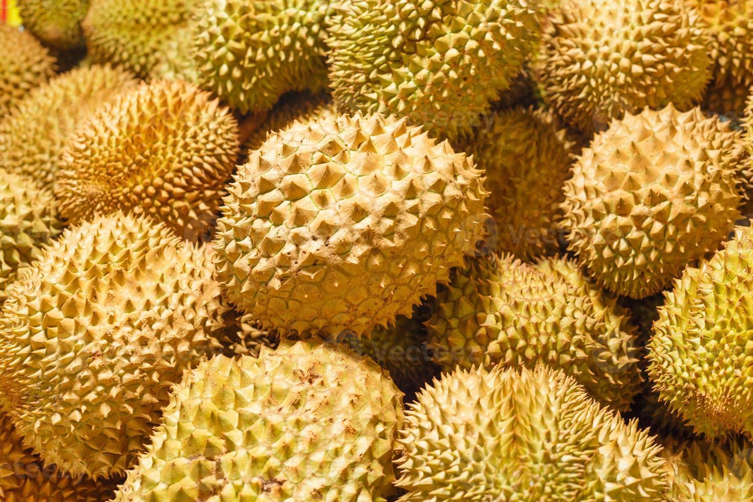 Nahaufnahme Durian foto