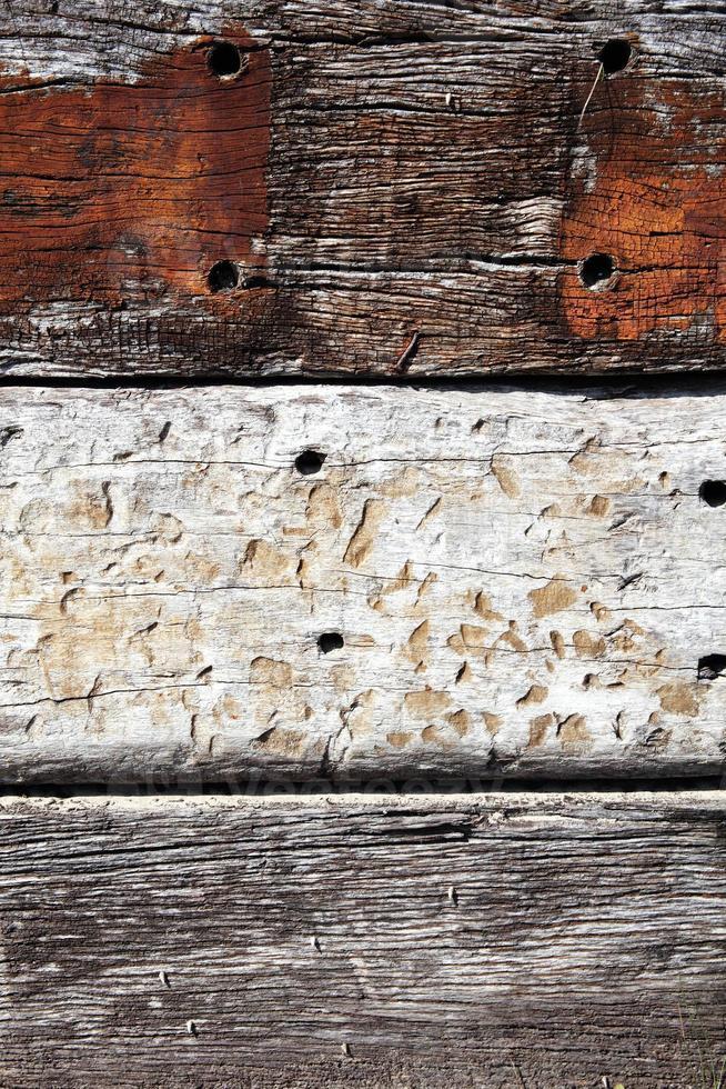 alter Eichenbretterhintergrund foto