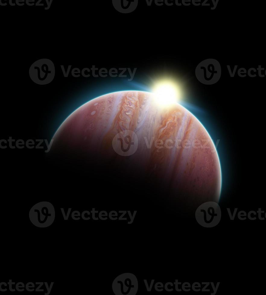 großer Planet foto