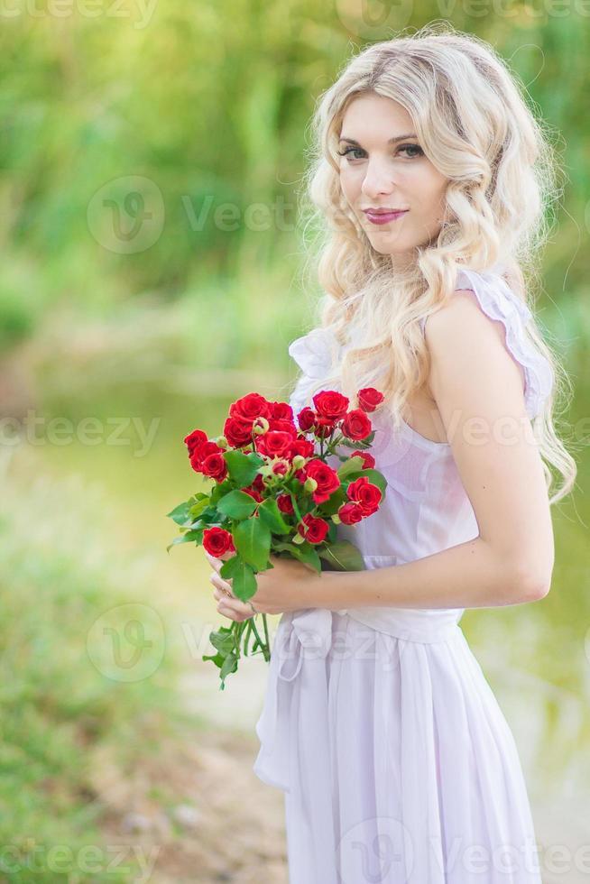 Schönheit Frau Porträt foto