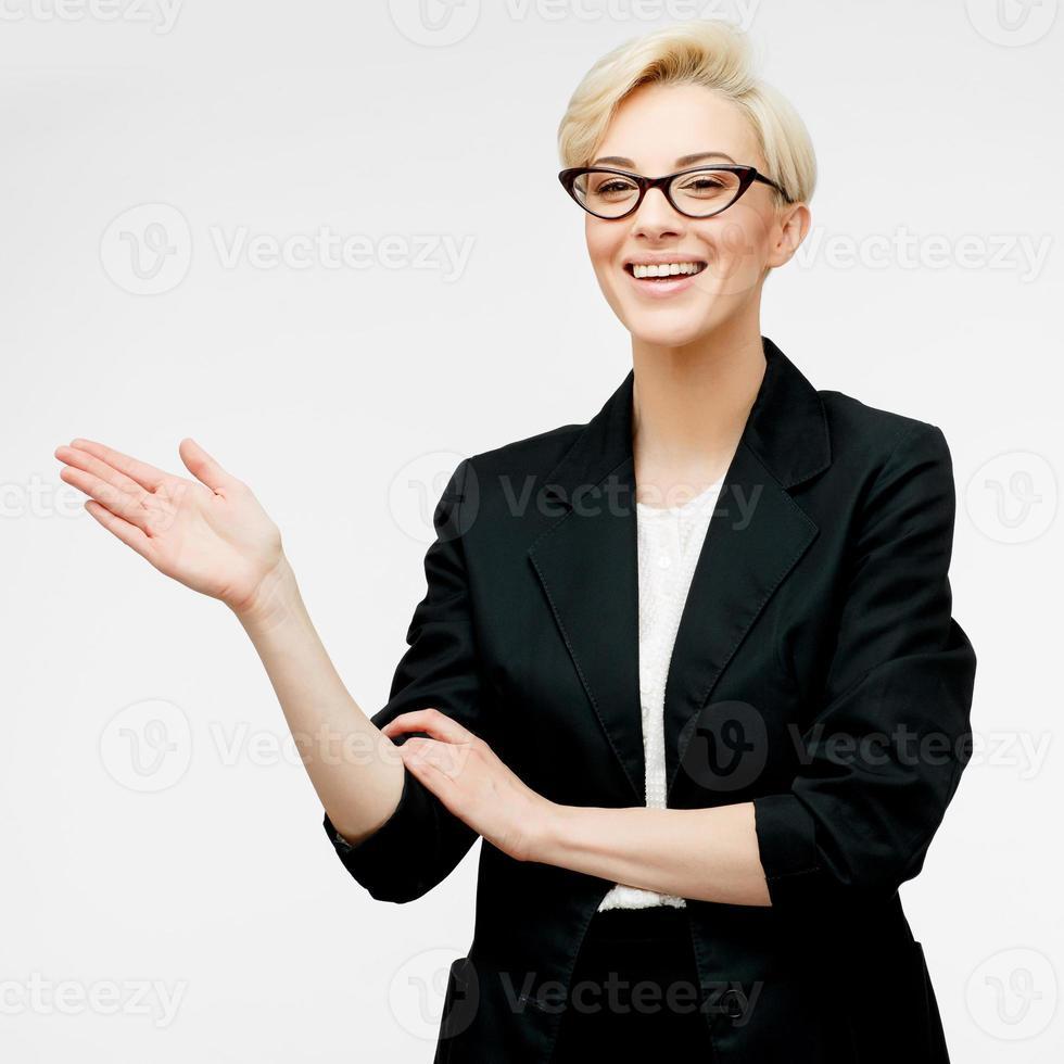 Porträt der Geschäftsfrau foto