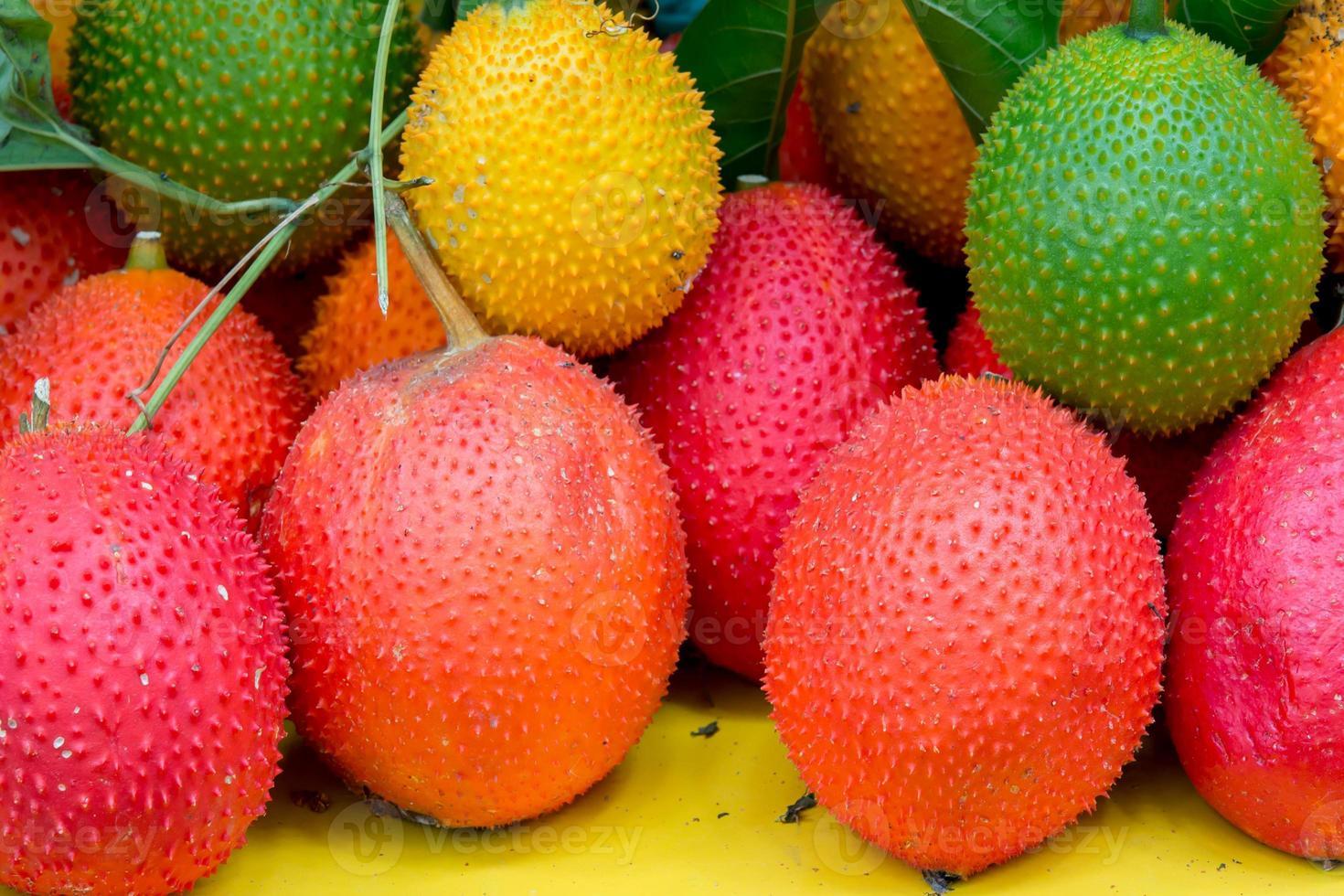 Gac Frucht gesunde Frucht foto