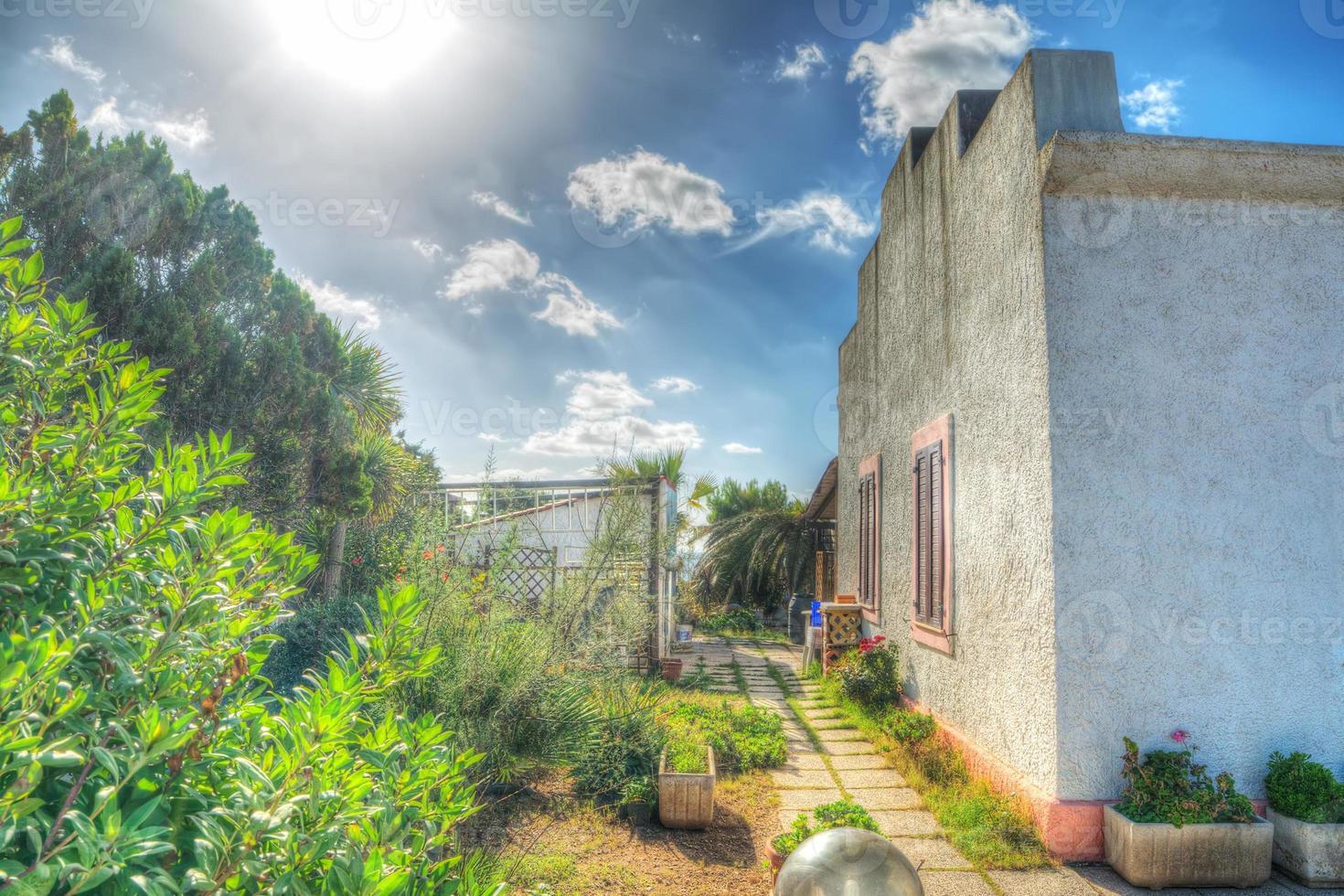 malerisches Haus in Sardinien foto