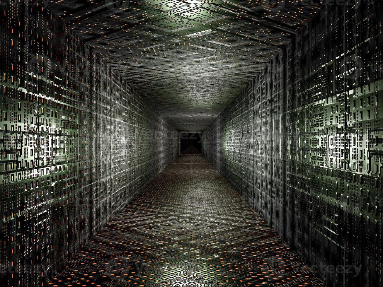 virtueller technologischer Hintergrund foto
