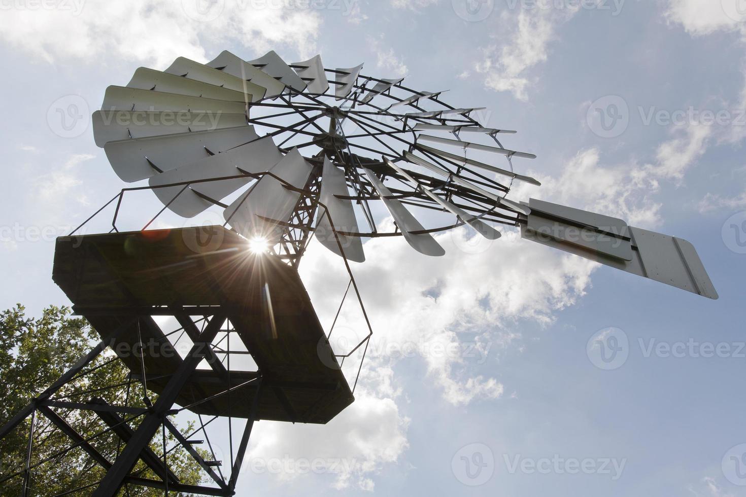 antike Windmühle foto