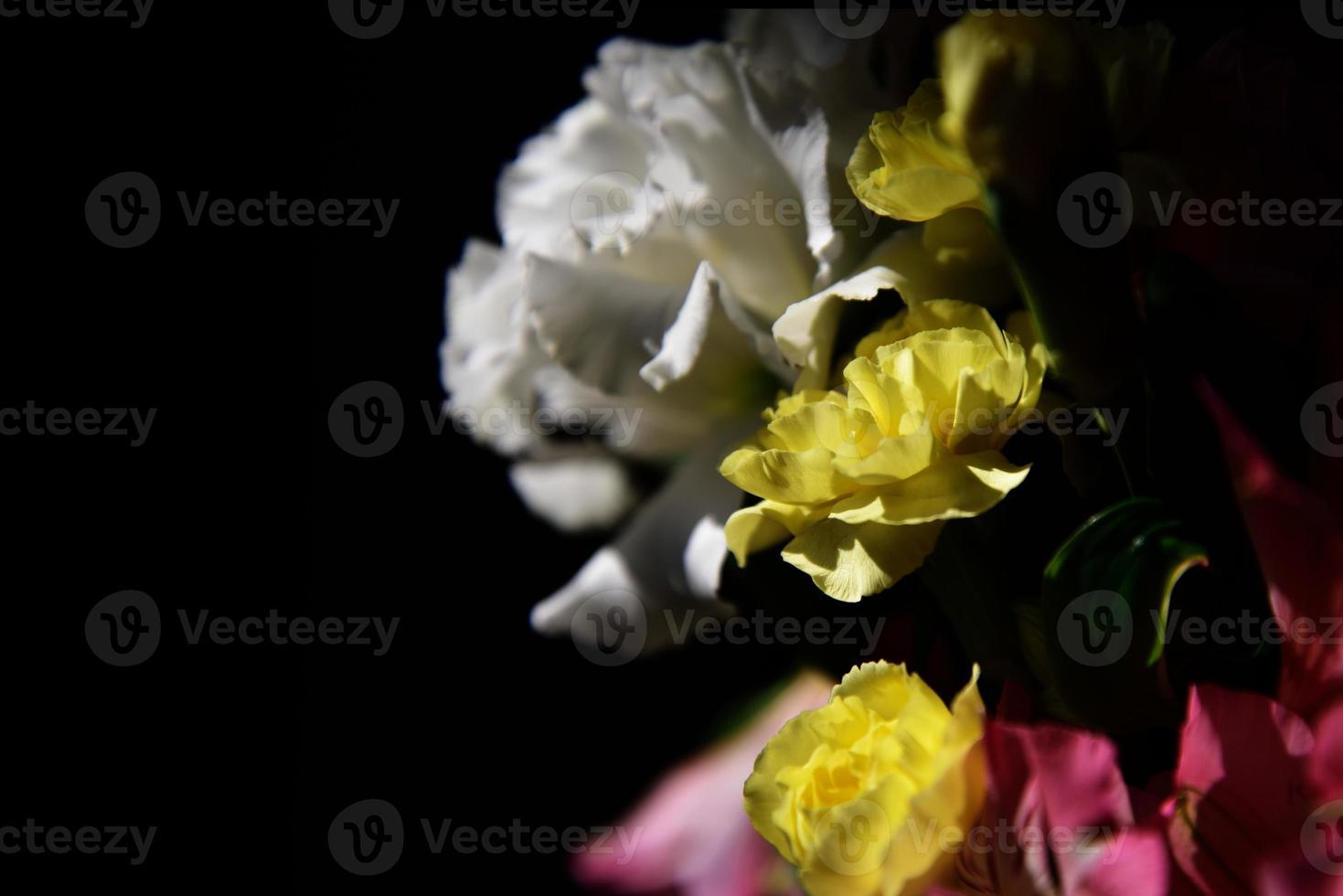 Nahaufnahme des Blumenstraußes foto