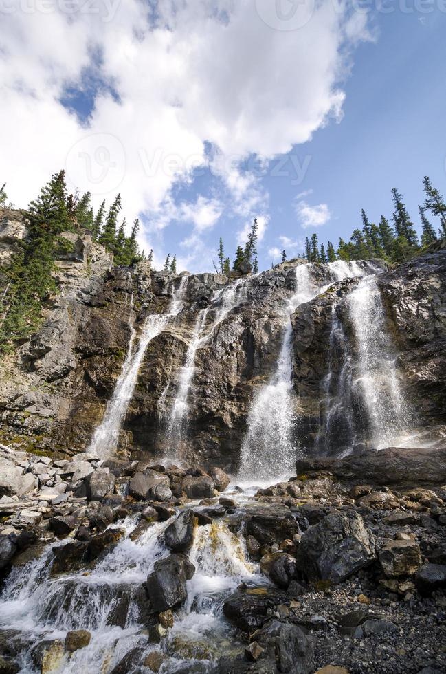 Tangle Creek fällt in Kanada foto