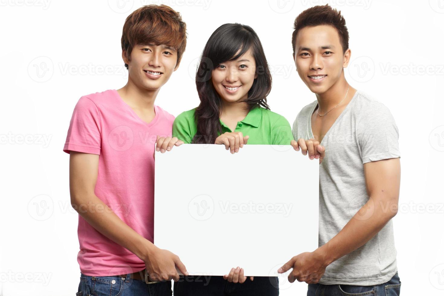 Gruppe von Studenten foto
