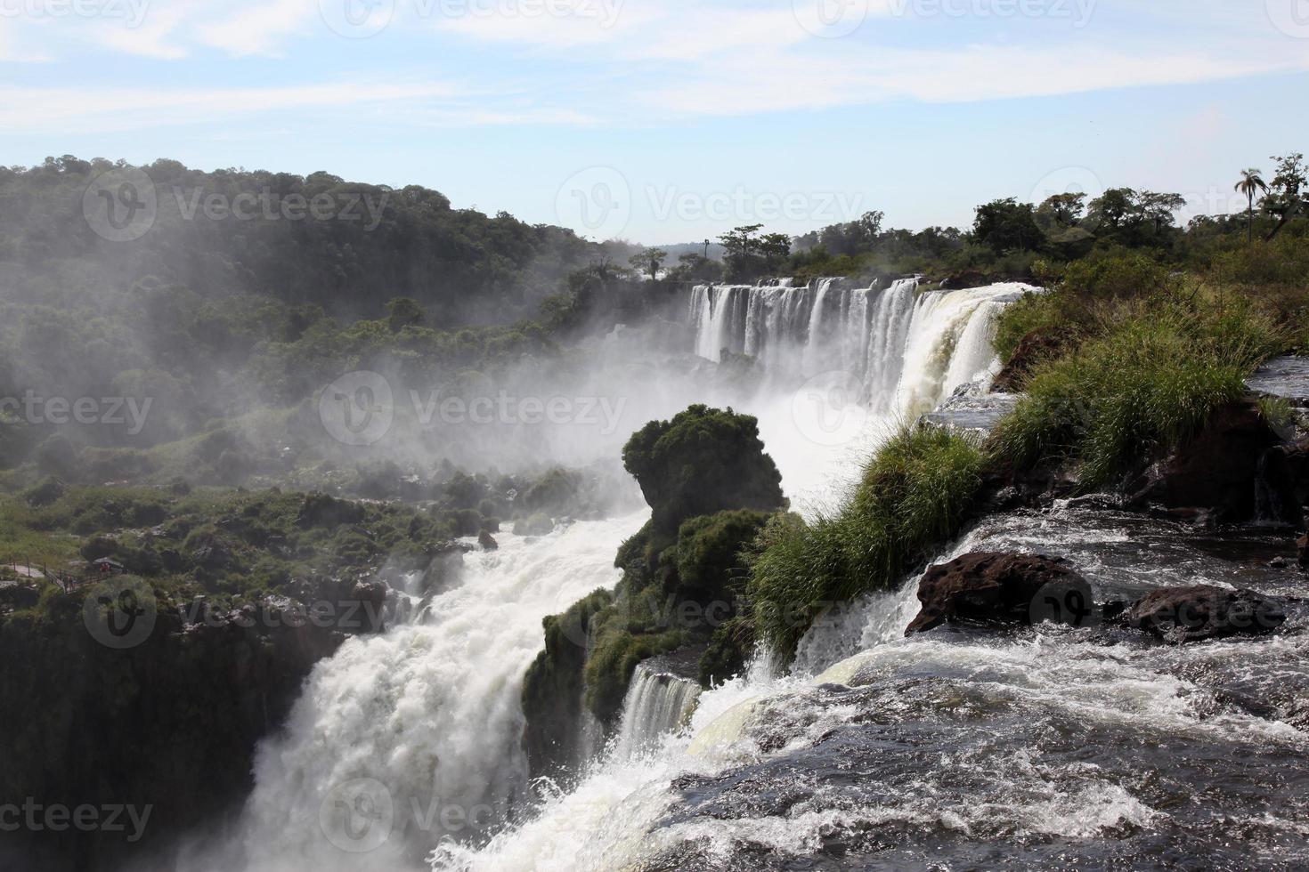 Iguazu fällt, argentinische Seite foto