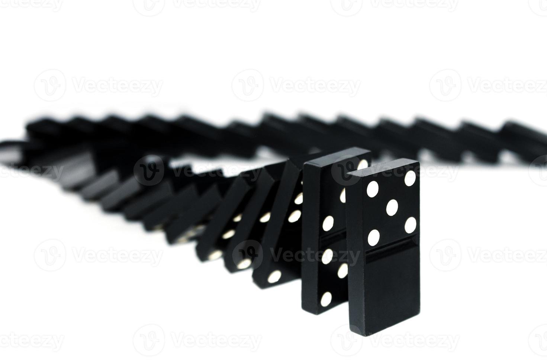 fallender Domino foto