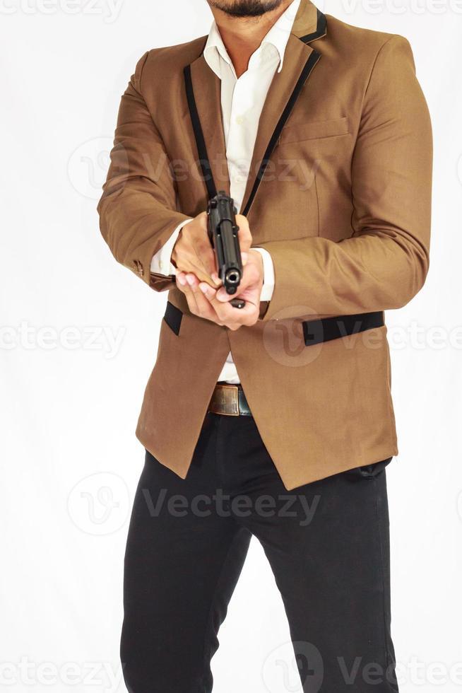 Leibwächter des Geschäftsmannes foto