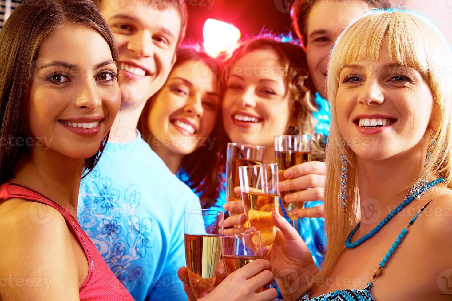 Auf der Party foto