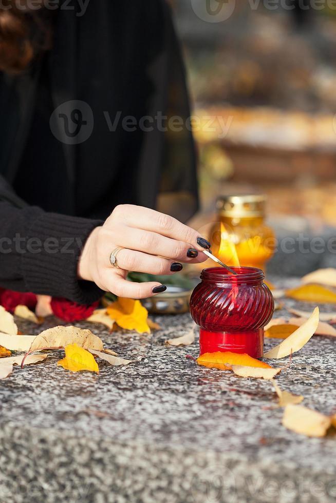 Kerzenfeuer foto