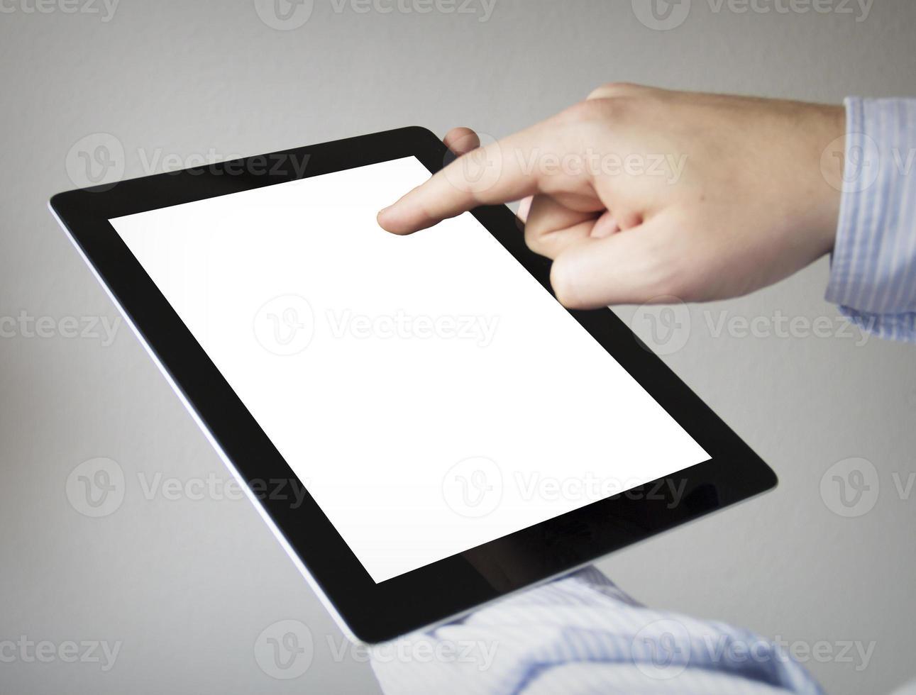 Mock-up-Tablet foto