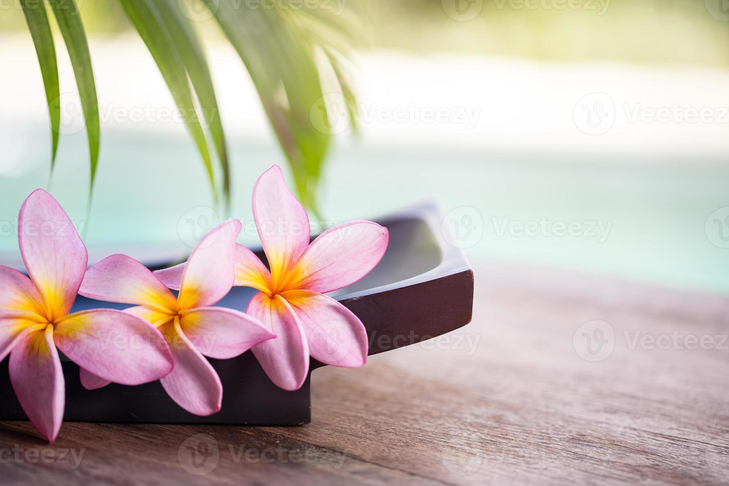 Spa und Wellness Hintergrund foto