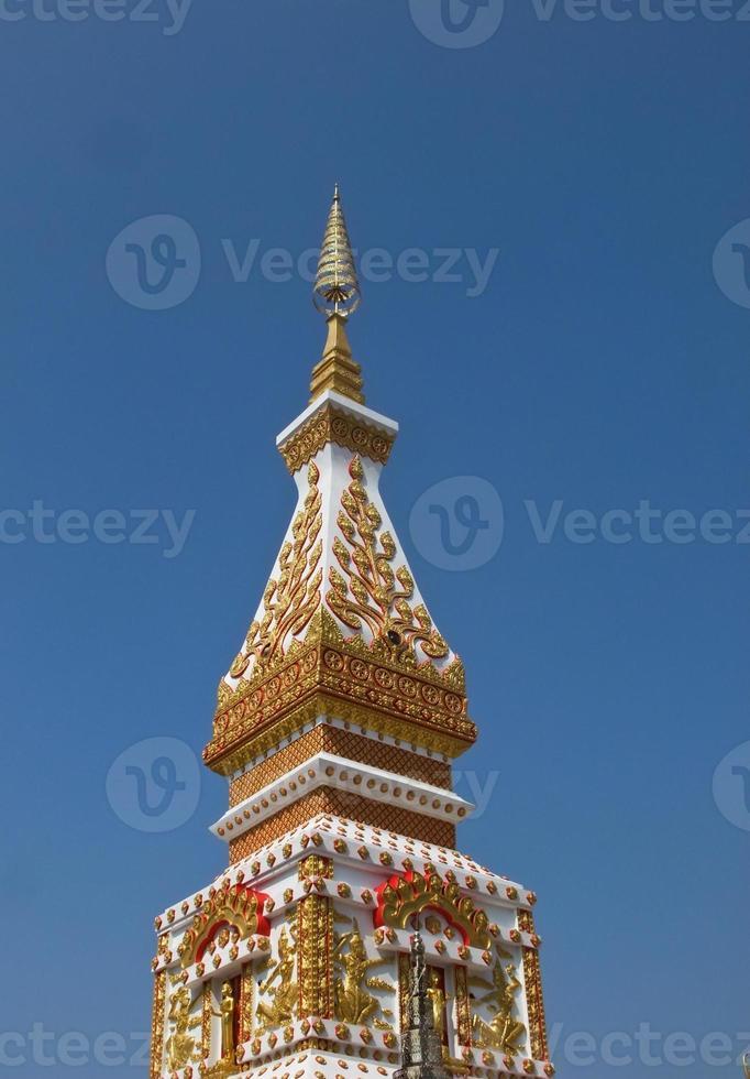 Phra, die Sri Koon Pagode in Nakhon Phanom, Thailand foto