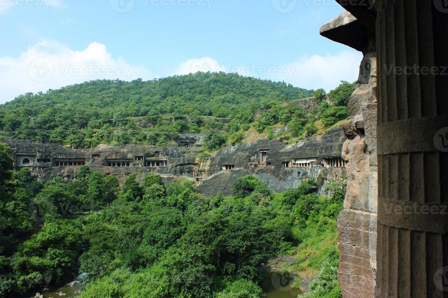 Ajanta-Höhlen foto