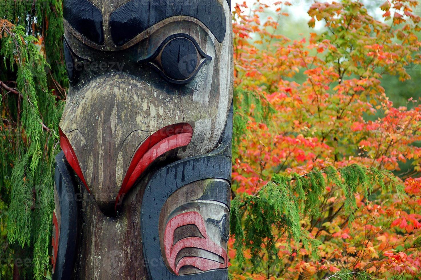 Totem in Ketchikan foto