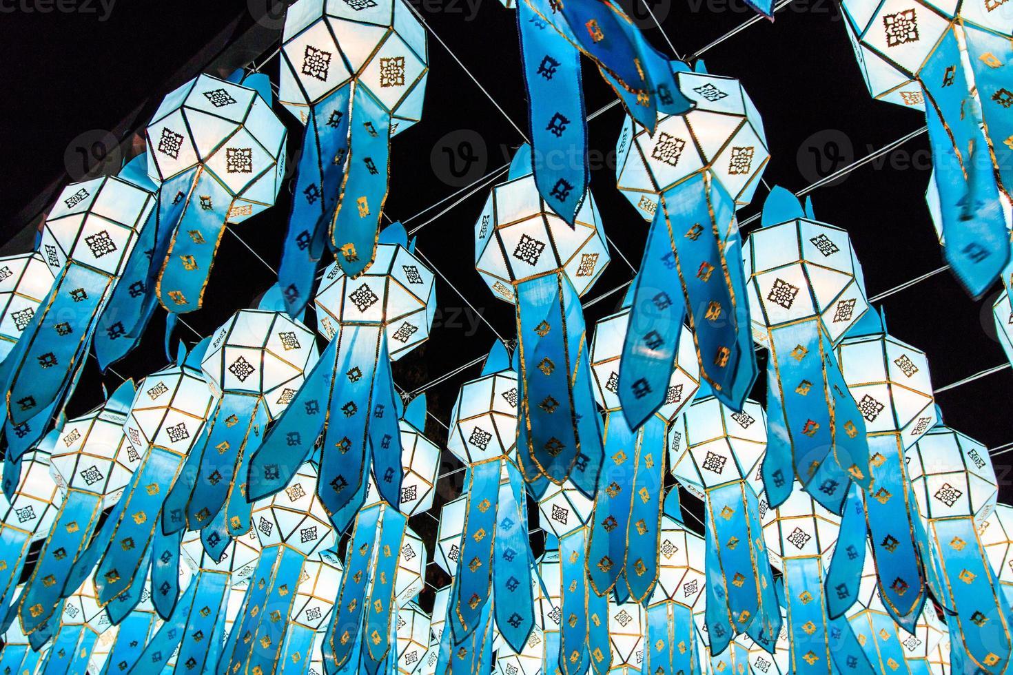 lanna laterne thailand foto
