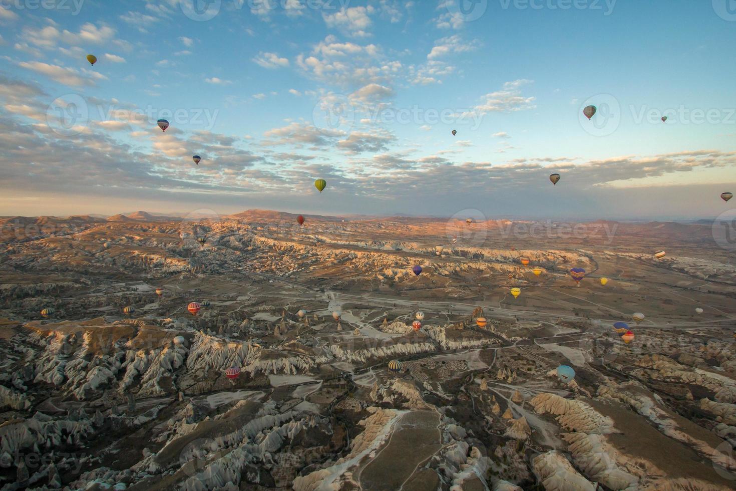Heißluftballons aus Kappadokien foto