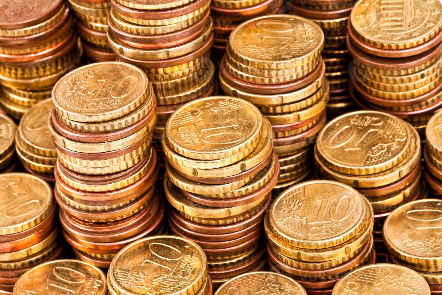 goldene Münze foto