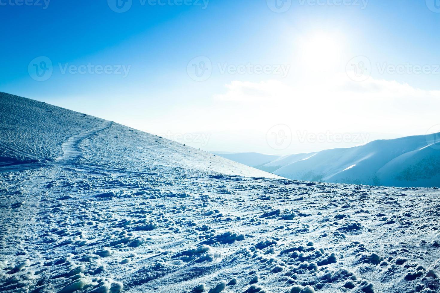 polarer Sonnenschein foto