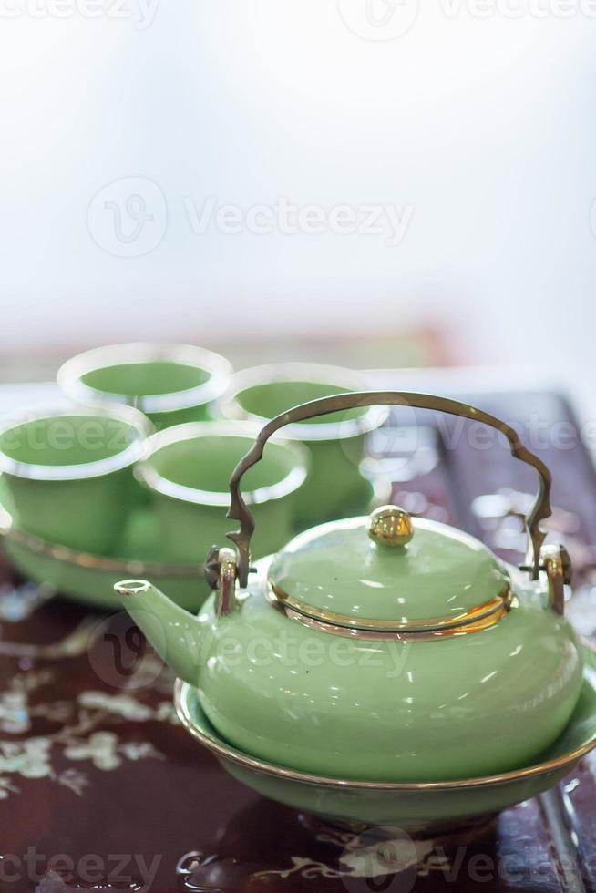 chinesische Teekanne - Archivbild foto