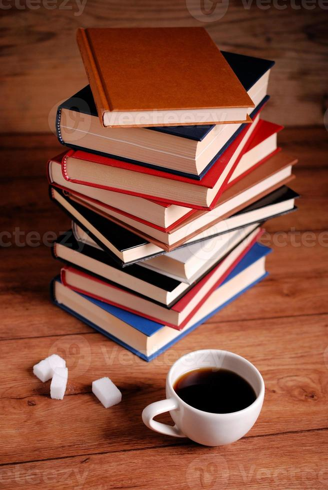 Stapel Bücher foto
