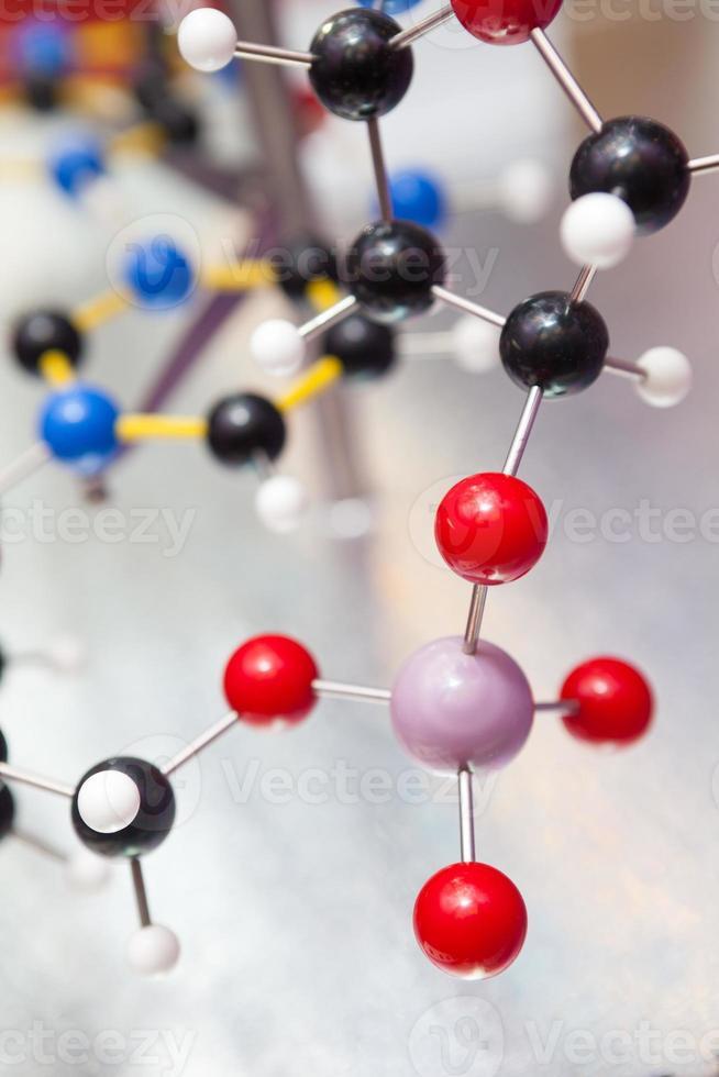Wissenschaft molekulare DNA-Struktur, Business-Kommunikation Verbindungskonzept foto