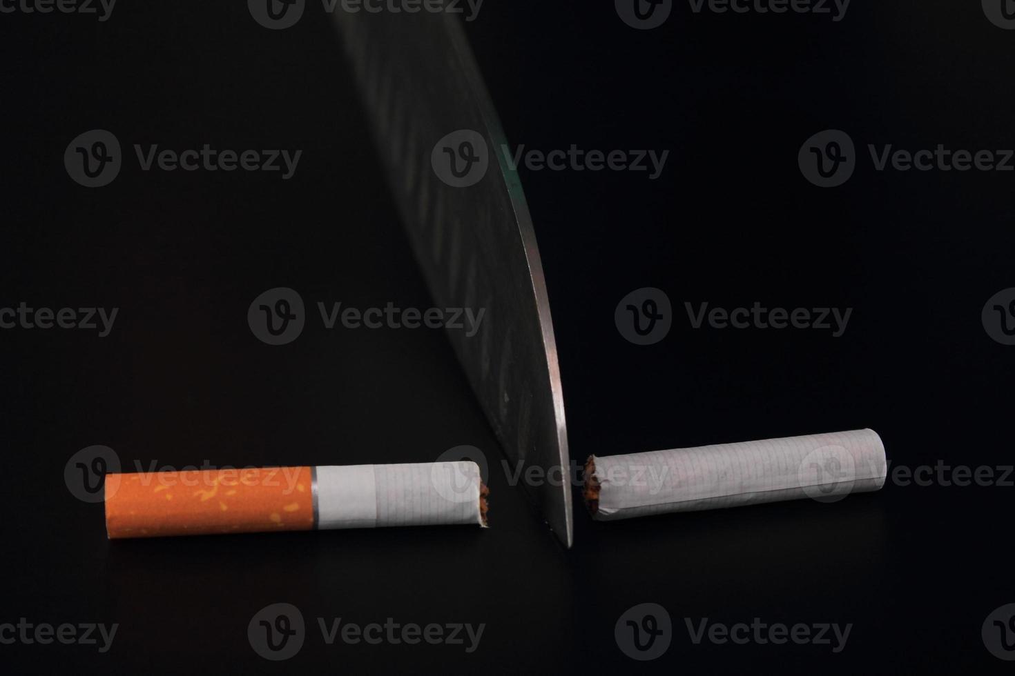 aufhören zu rauchen foto