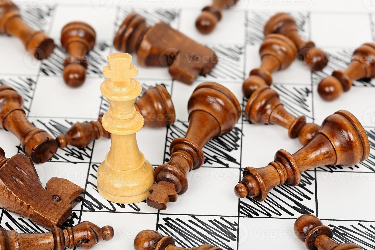 Schachmatt foto