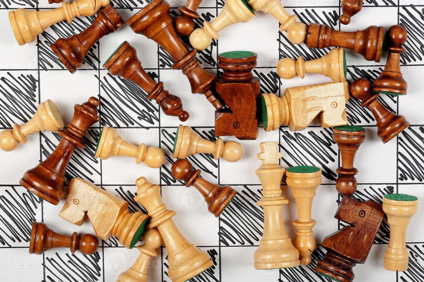 Schachfiguren foto