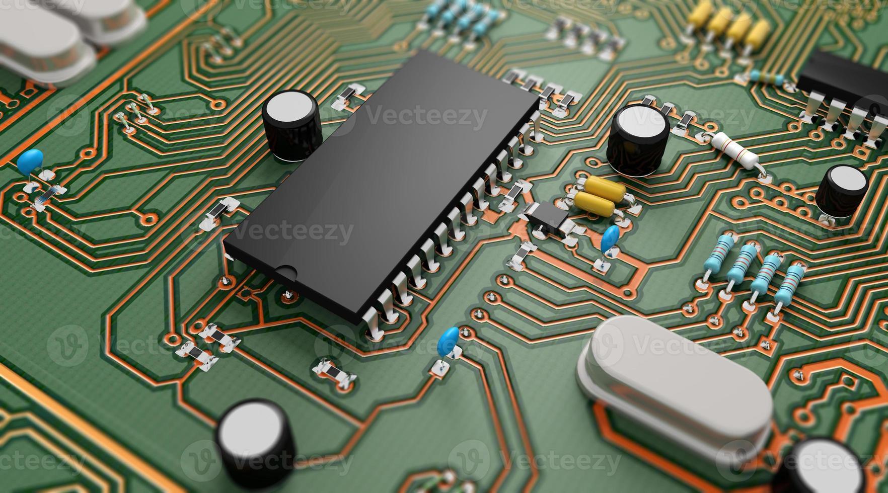 elektronische Leiterplatte foto