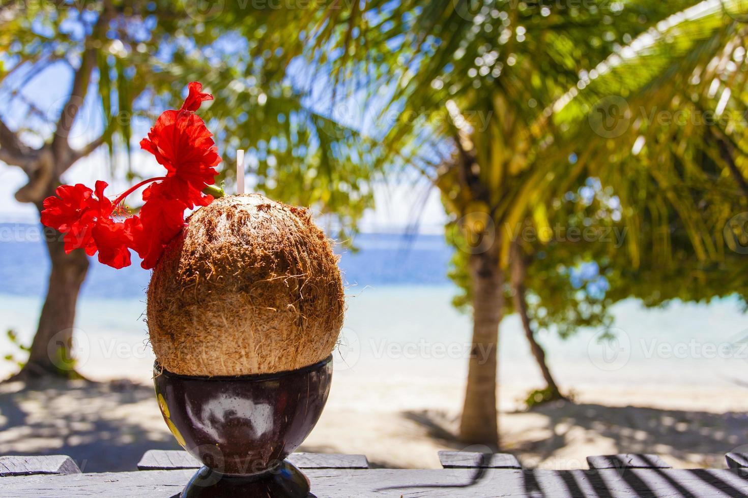 Kokosnussgetränk foto