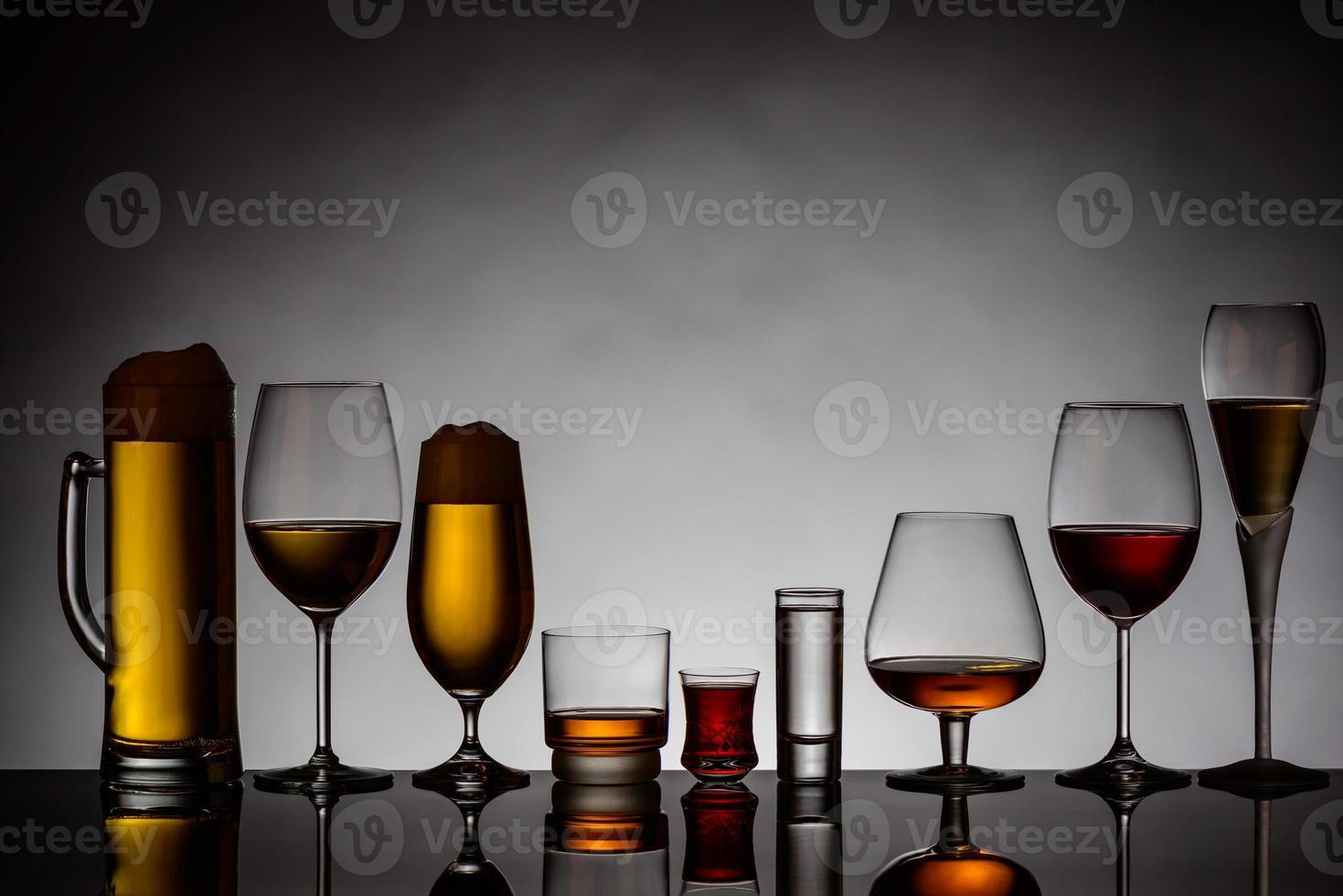 alkoholische Getränke foto