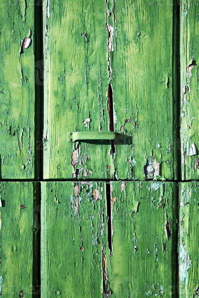 abstrakte rostige einsame Ceppino Varese Italien foto