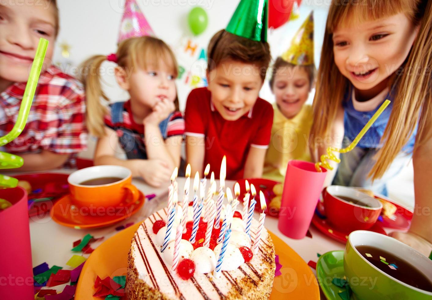 Geburtstagskuchen foto