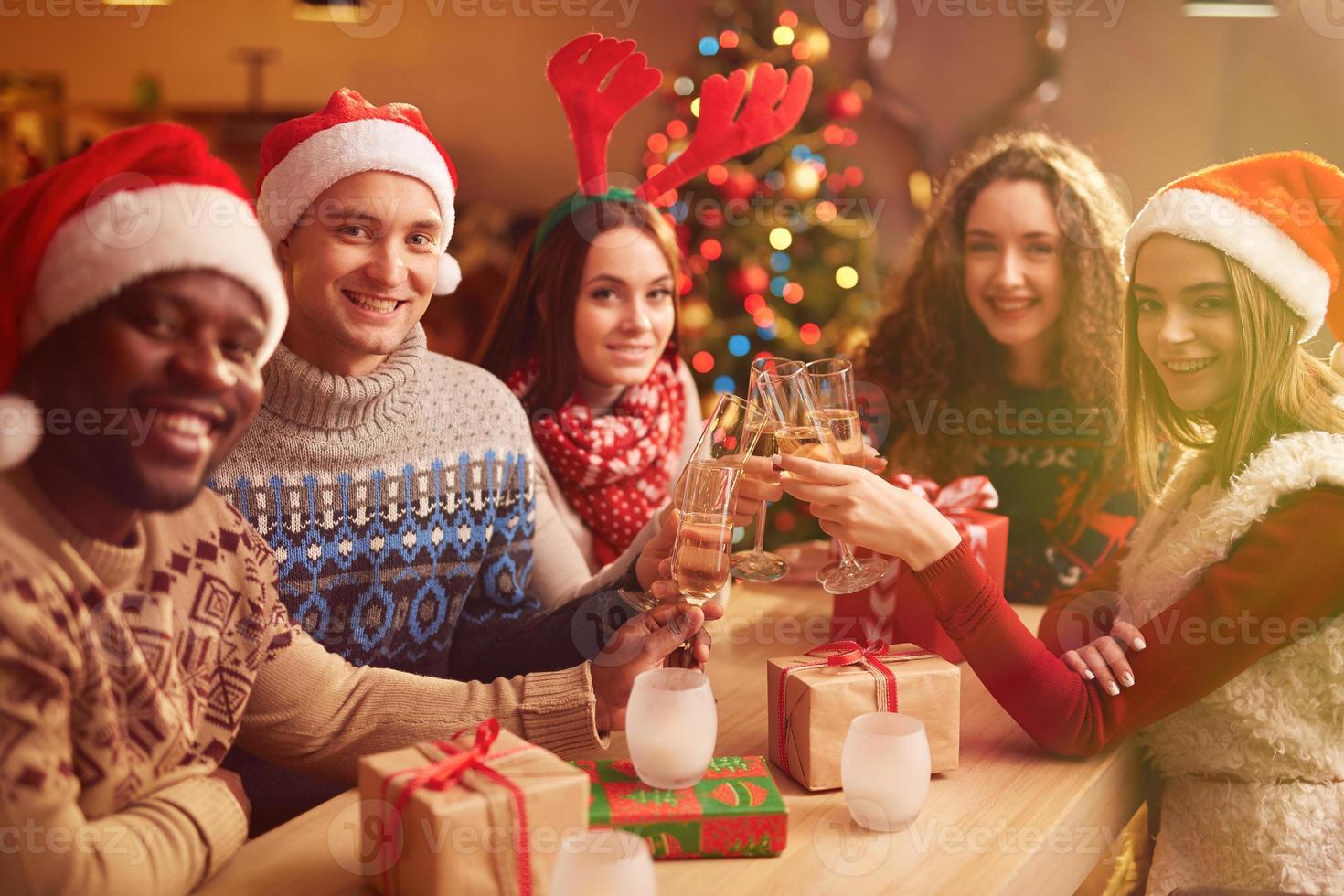 Weihnachten feiern foto