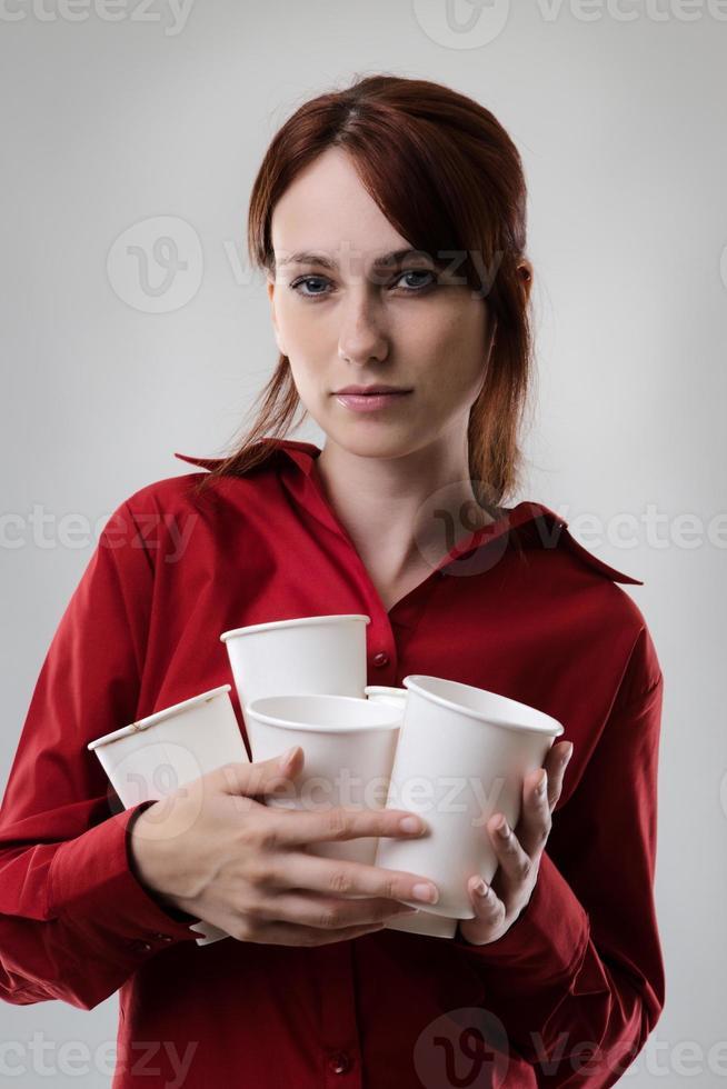 Kaffee trinken foto