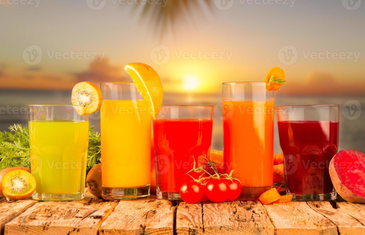 frisches Getränk foto