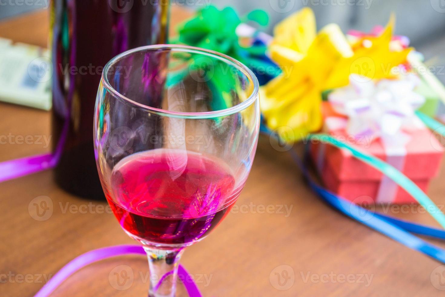 Glas exotisches Getränk foto