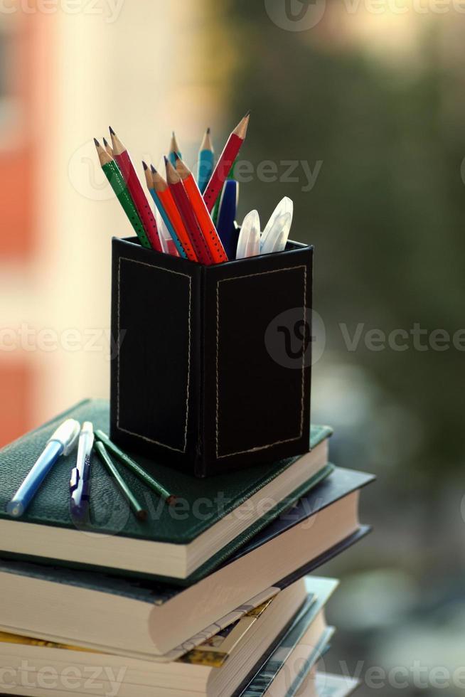 fange an, Hausaufgaben zu lernen foto