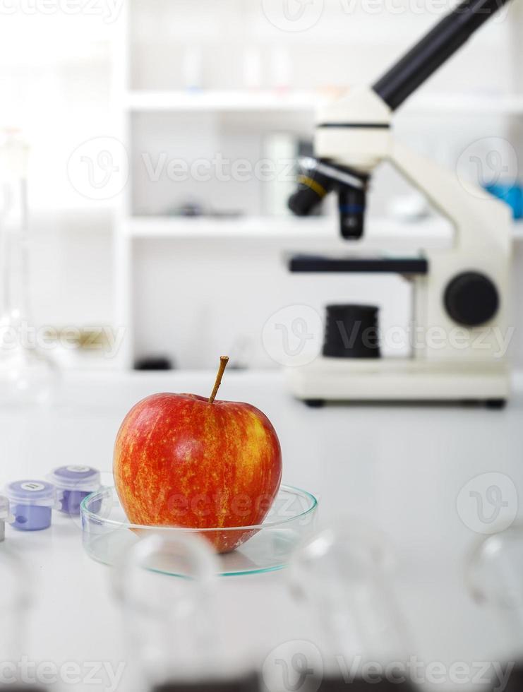 chemisches Labor der Lebensmittelversorgung foto