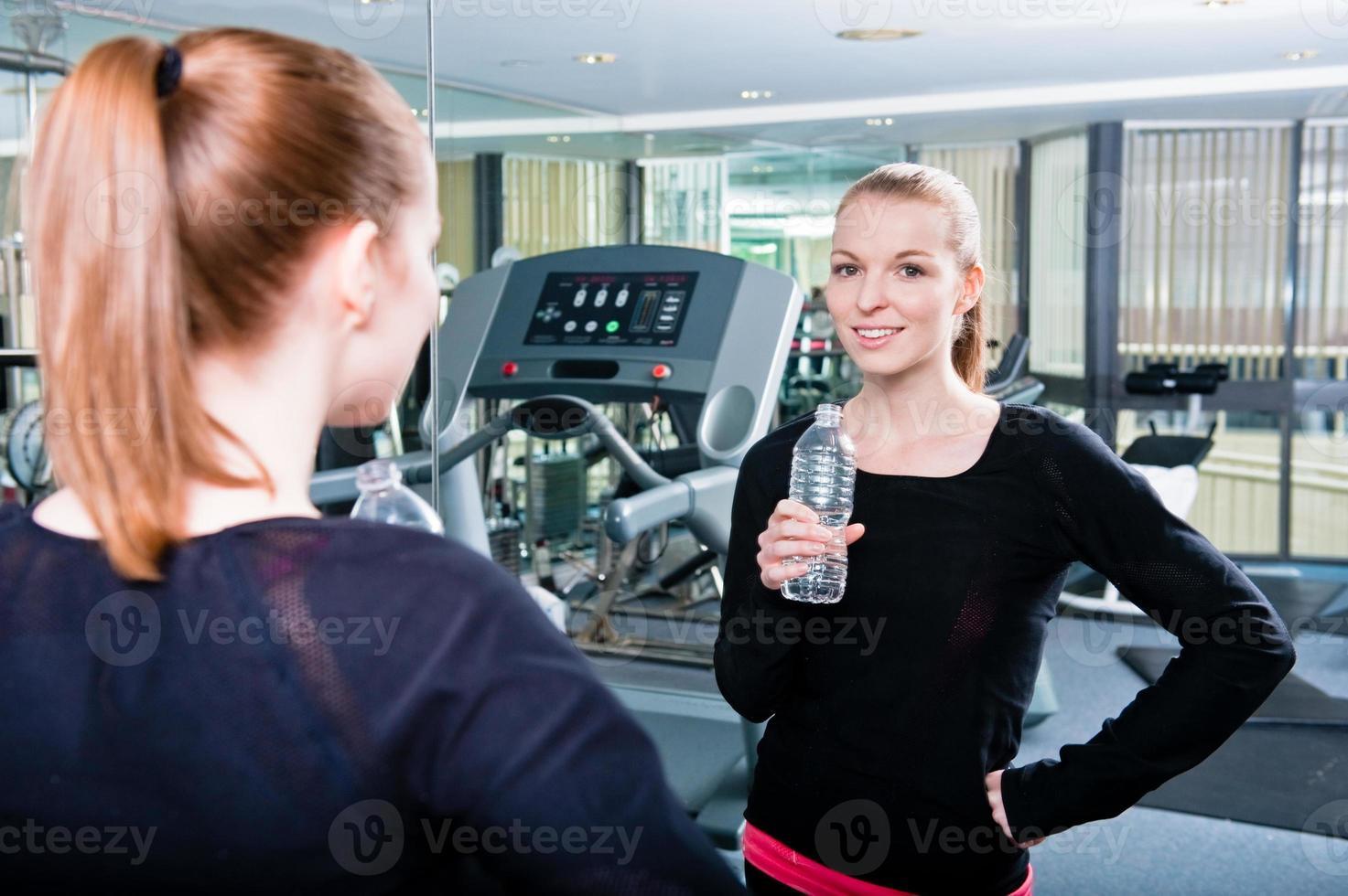 Getränk nach dem Training foto