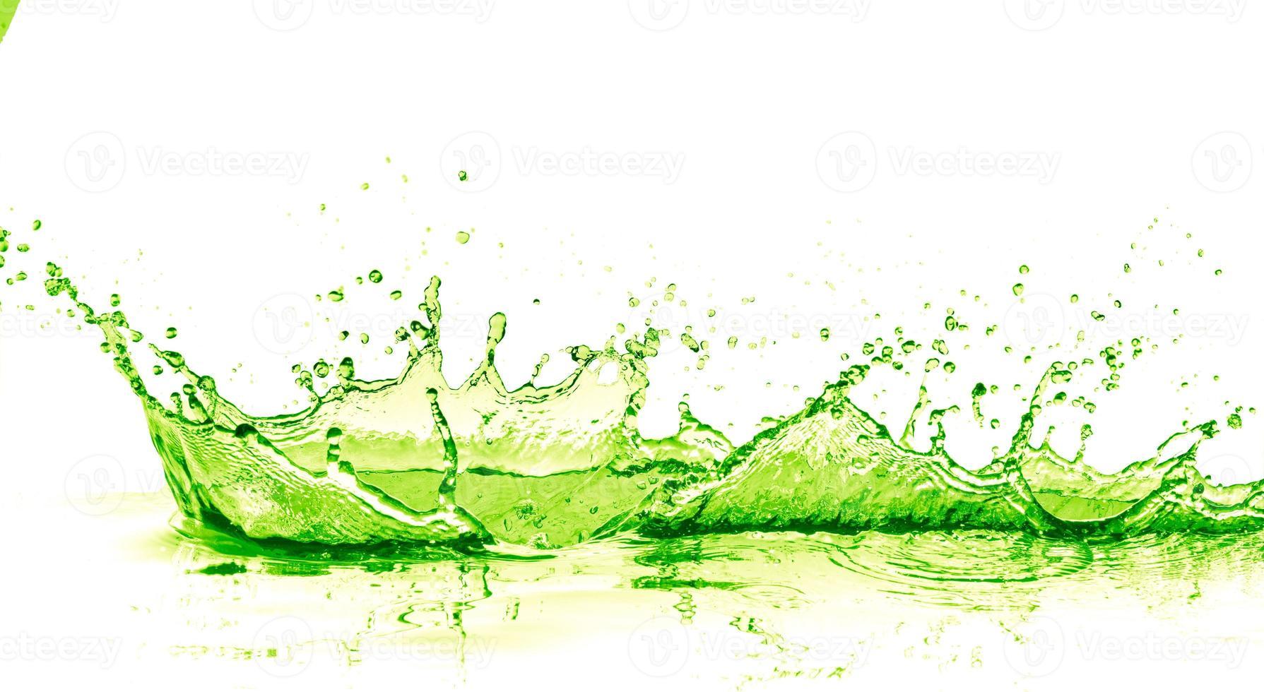 Limettengetränk Spritzen foto