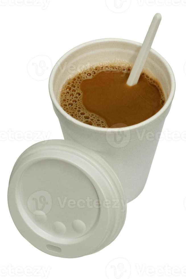 Kaffeetrinkbecher. foto