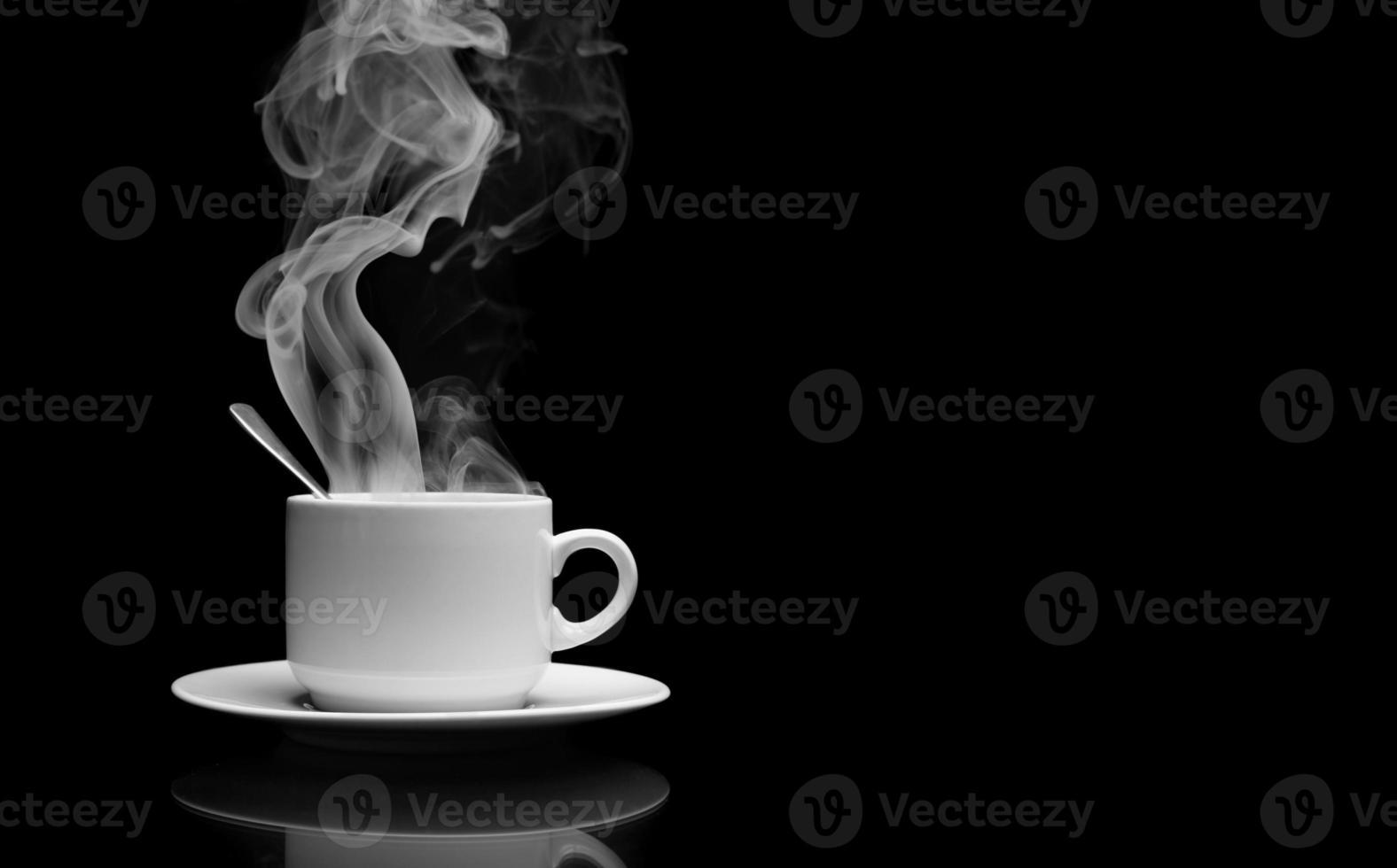 Tasse heißes Getränk foto