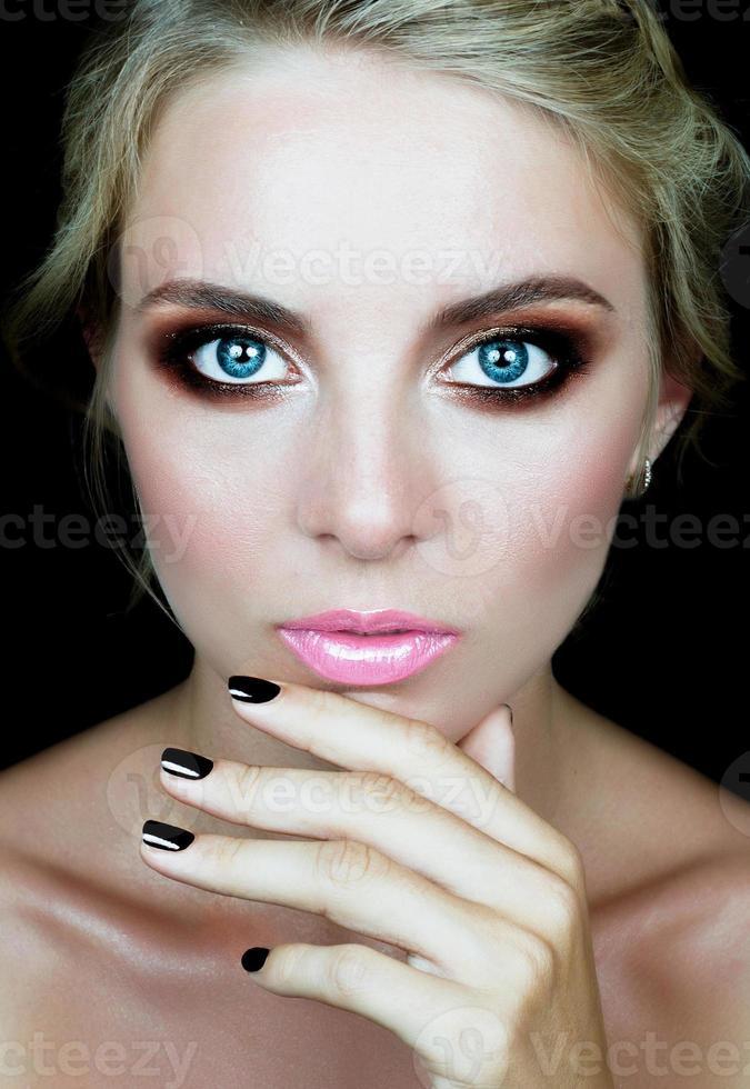 professionelles Make-up foto