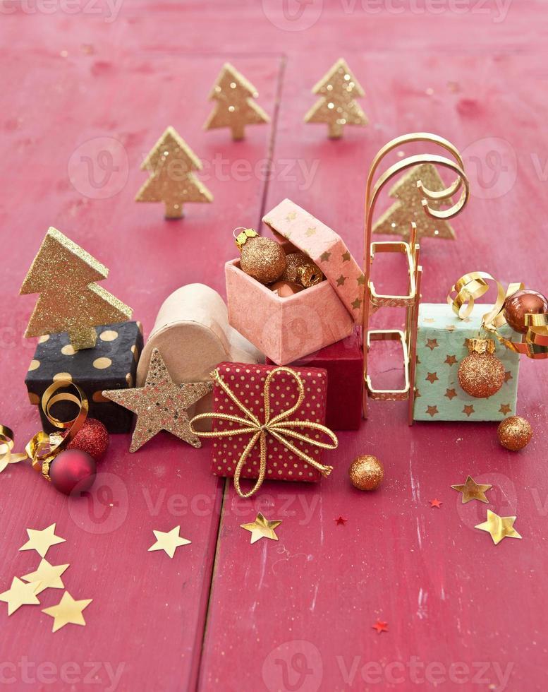 kleine bunte Geschenke foto